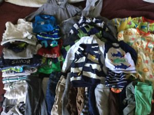 Lot of baby boy clothing 6-9 months