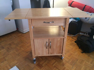 Lamp, Room Divider And Portable Kitchen Island