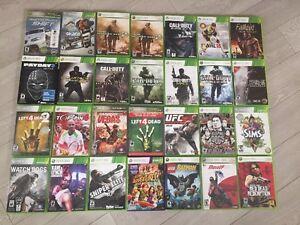 jeux xbox 360 de 7 a 10 chaque