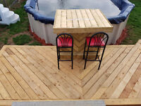Deck work and other small carpentry jobs!!