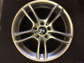 ONLY GOT ONE . BMW 1 series 7.5x 18 front alloy wheel for sale £195 call 07860431401