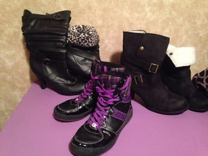 Boots & Dereon high tops in brand new condition.