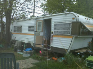 Old 1977.  24 foot trailer for sale