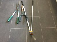 Hedge Trimmer x 2 and Edge Trimmer £5 for the lot
