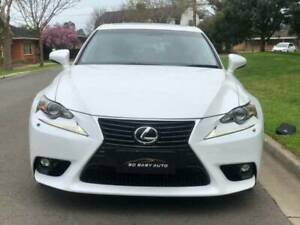 2015 LEXUS IS 250 AUTO LEATHER SEATS SUNROOF Torrensville West Torrens Area Preview