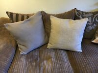 Two Grey Next Cushions