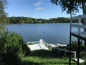 Beautiful Lake Front Cottage For Rent