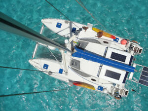 location catamaran Grenadines avec skipper 4 a 8 personnes
