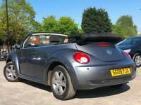 2008 VOLKSWAGEN BEETLE 1.6 LUNA CABRIOLET, LOW MILEAGE + SERVICE HISTORY + WOW !