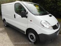2014 Vauxhall Vivaro 2700 Cdti SWB Ecoflex Panel Van 2.0 Manual Diesel