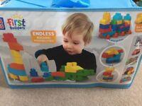 Mega Blok Blocks Duplo Lego Bundle New 150pcs