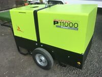 Pramac P11000S 10.8 kva diesel silent ( no vat ) 4 hours run