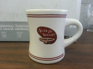 A&W Vintage Allen & Wright coffee cup