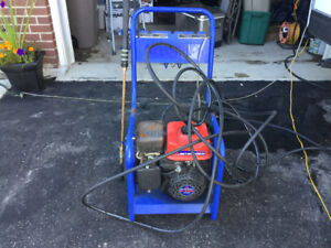 Mitsubishi gas powered power washer. Serviced a year ago