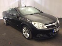 VAUXHALL ASTRA 1.8i TWINTOP DESIGN AUTOMATIC [2007] LEATHER..NAVIGATION..HISTORY