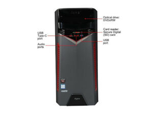 Acer Aspire Gaming PC (Tower Only)