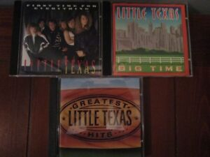 LITTLE TEXAS - 3 Compact Disc Collection