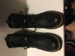 Men's Lined Leather Boots