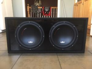 MTX Thunder Pro II box and subs