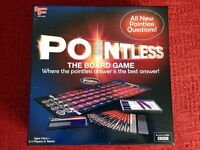 2 board games - Pointless & Absolute Balderdash