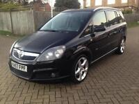 2007 Vauxhall Zafira 1.9 CDTi 16v SRi 5dr