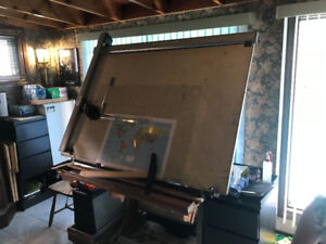 Antique Drafting Board