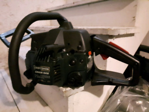 Craftsman special edition chainsaw