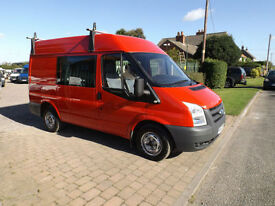 2007 07 Ford Transit Factory Crew Van 6 Seats