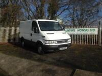 Iveco Daily L Class 2.3TD SWB 59K NO VAT PART EX TO CLEAR