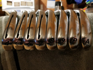 Taylormade PSI tour forged irons graphite shafts