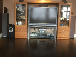 Sony tv with stereo system