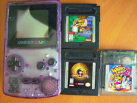 Nintendo Gameboy Color + Games