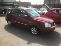 2005/55 Kia Carens 2.0 GS 5dr MPV Dual Fuel (Petrol & LPG) £1695