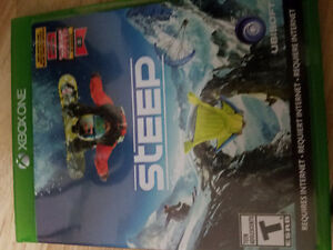 Selling steep xbox one awsome condition 20$