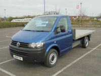 2014 VW VOLKSWAGEN TRANSPORTER 2.0TDi 140PS 6 SPEED T30 LWB FLATBED PICKUP TRUCK