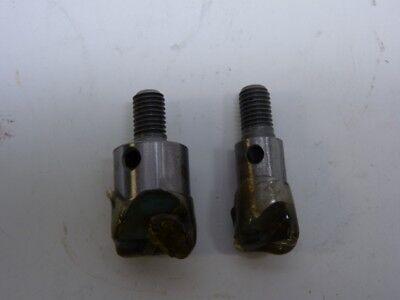 2 Rivet Shaver Bits Carbide Tip Unused Aircraft Aerospace Surplus