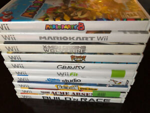 ABOUT 26 Wii GAMES! MARIO GAMES, POKEPARK, DONKEY KONG ETC.