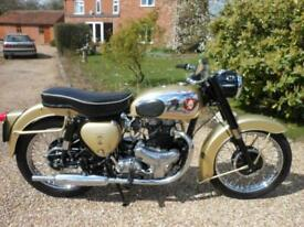 BSA A10 GOLDEN FLASH, 1959, 650 TWIN, SWING ARM MODEL, LOVELY OLD GIRL
