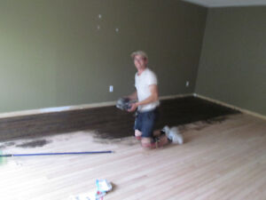 Hardwood Floor Refinishing, Staircase and Railing Refinishing London Ontario image 1