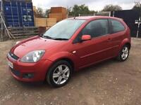 FORD FIESTA 2008/57 1.4 MY ZETEC 3DR CLIMATE MANUAL - PETROL - FULL SERVICE HIST