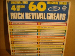 60 Rock Revival greats 4 LP Box Sets!