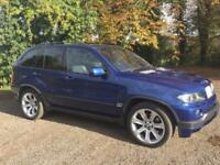 BMW X5 4.8 is S 5dr - Le Mans Blue / Low Mileage