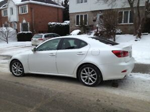 2011 Lexus IS 350, Premium Ed, Berline blanche