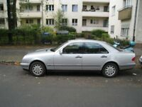 Mercedes driver with car offers reliable dedicated service in London/South east
