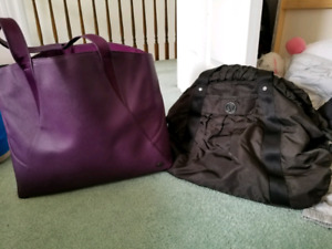Lululemon gym bags
