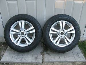 225-65-17 Equinox rims plus Michelin Latitude Tour tires