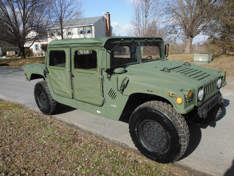 M998 MILITARY 4DR 2010 100 MILES H1 HUMMER MILITARY TRUCK ON-ROAD TITLE