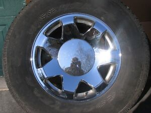 Cadillac Escalade EXT, ESV factory chrome rims Peterborough Peterborough Area image 3