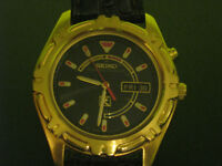 montre antique , vente debaras, grage sale, seiko, automatic