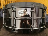 Vintage WorldMax Black Brass Snare Drum